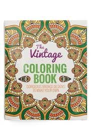 This Vintage Inspired Coloring Book Is Packed With Elaborate Patterns That Make For A Relaxing Meditative Activity To Help You Unwind And Pages