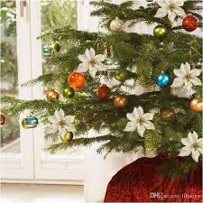Christmas Tree And Ornaments Inspirational 13cm 5 11 Flashing Poinsettia Artificial Plan