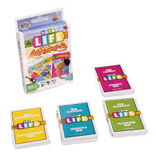 Board Game Life Adventures Card Puzzle Party