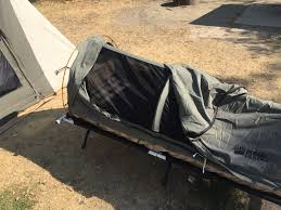 100 Kodiak Truck Tent Swag 1Person Canvas With Free 2inch Camping Pad And Bed Roll