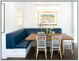 Dining Table Booth Chairs Corner Style