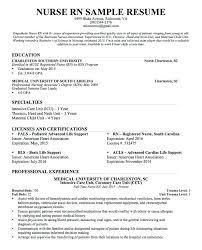 Sample Resume For New Graduate Nurse Download Nursing Fresh