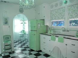 Fashion Style Vintage Green 50s Retro Pin Up Rockabilly 1950 Furniture Kitchen 60s 1960 Photoshop Edit
