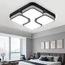 miwooho 64w deckenleuchte led deckenle kaltweiß schlafzimmer flurleuchte wohnzimmer modern design energieklasse a