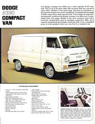 100 Compact Trucks 12 Page Color Catalog For 1964 Dodge A100 Compact Vans Compact