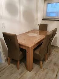 esstisch mit 4 stühle mit rechnung