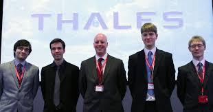 thales si e social thales graduate internship opportunity desk