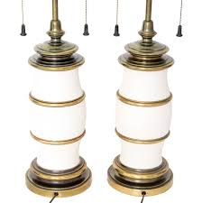 Stiffel Table Lamps Vintage by Bronze And White Stiffel Table Lamps Janney U0027s Collection