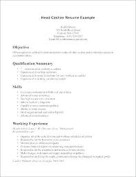 Resume Sample As Cashier With Example Resumes Skills Soft Jobs A To Frame Awesome