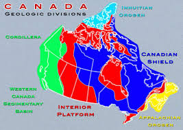 California Regions Map For Kids Fresh Canadian Arctic Tundra