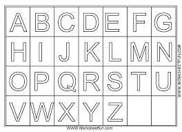 To Worksheet Letters Coloring Worksheets For Preschool