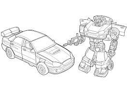 Dessins Gratuits à Colorier Coloriage Transformers à Imprimer