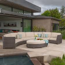 Semi Circle Outdoor Patio Furniture by Seating Sets Costco