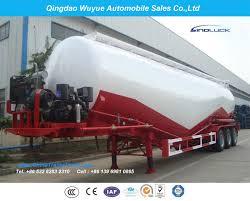 100 Semi Truck Trailers Tri Axle 55cbm Dry Bulk Cement Tank Trailer Or