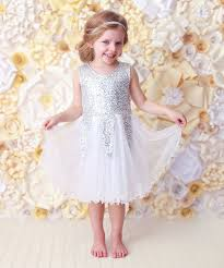 online get cheap silver tulle and sequin dress kids aliexpress