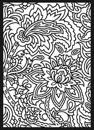 From Paisley Designs Stained Glass Coloring Book 1 Dover Publications