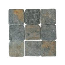 Types Of Natural Stone Flooring by 4x4 Natural Stone Tile Tile The Home Depot