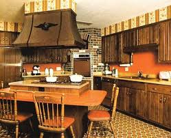 1970s Kitchen Table Height Seating Around The Island Why Did This Lose Popularity