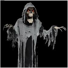 Motion Sensor Halloween Decorations Uk by Halloween Animated Hanging Reaper Mad About Horror