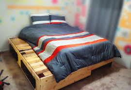 Pallet Bed Frame by Prestige Design Pallet Beds Handmade U0026 Rustic Contemporary