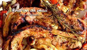 cuisiner des tendrons de veau tendron de veau citron romarin au barbecue petits plats entre amis