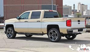 100 Chevy Decals For Trucks CHEYENNE RETRO 20142018 Silverado MidBody Wrap Accent