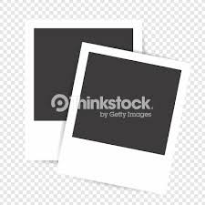 Photo Frame On A Transparent Background Blank Frames Vector Art