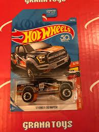 100 Hot Trucks 17 Ford F150 Raptor 348 US Card 2018 Wheels EBay