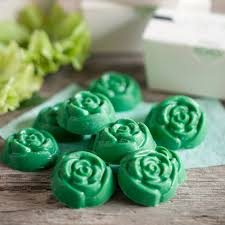 Love Blossom Candy Favors From My Own Ideas Blog Wedding Favor Green