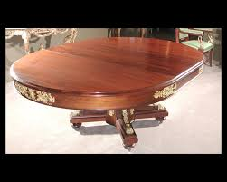French Empire Mahogany Dining Room Table