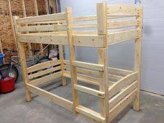 Easy Cheap Loft Bed Plans by Easy Strong Cheap Bunk Bed Bunk Bed Pinterest Cheap Bunk