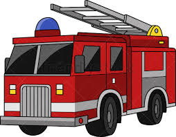 100 Fire Truck Clipart Cartoon Vector FriendlyStock