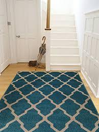 benuta teppiche teppich lotus blau 300x400 cm