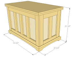 how to build a toy chest step by step beginner woodworking plans