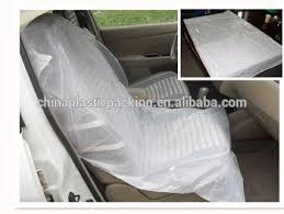reparation de siege auto auto réparation jetable en plastique de voiture housse de siège en