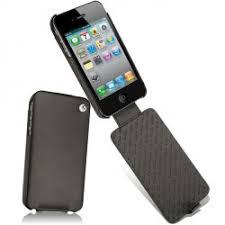 etuis housses et coques haute couture en cuir pour apple iphone 4