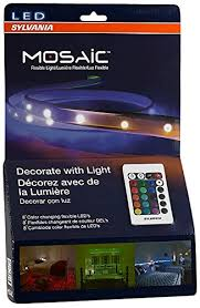 sylvania led rgbw color changing lights rgbw mosaic