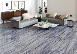 blue porcelain wood look tiles from msi