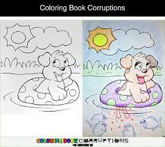 Coloring Book Corruptions Part 1