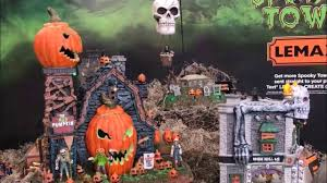 Lemax Halloween Village 2017 by Lemax Spooky Town 2017 At Michaels Youtube