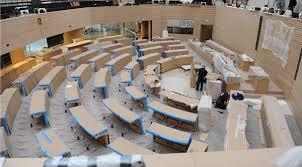 Landtag Baden Württemberg Landtag Baden Württemberg Abgeordnetentische Im Plenarsaal