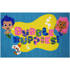 Bubble Guppies Bathroom Decor by Fun Rugs Nickelodeon Bubble Guppies Kids Rugs 39