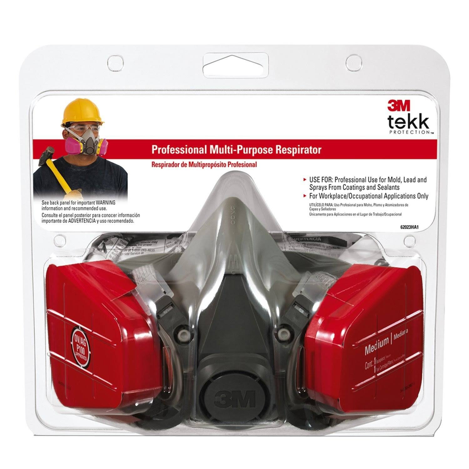 3M Tekk Professional Multi-Purpose Respirator
