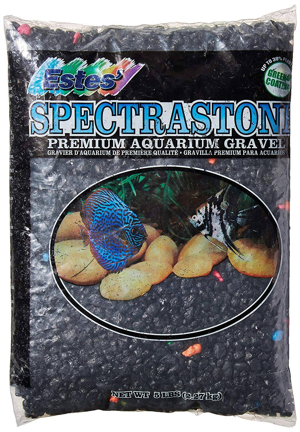 Estes Spectrastone Aquarium Gravel - Black