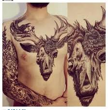 Best 25 Female Chest Tattoo Ideas On Pinterest