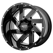 100 20 Inch Truck Rims Black Wheels Dodge RAM 1500 Moto Metal Mo988
