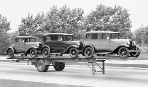 "Three Model ""A"" Fords To Go – Taylor Truck-a-Way Co. 