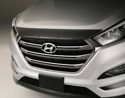 This is the Genuine OEM 2016 2017 Hyundai Tucson Bug Deflector