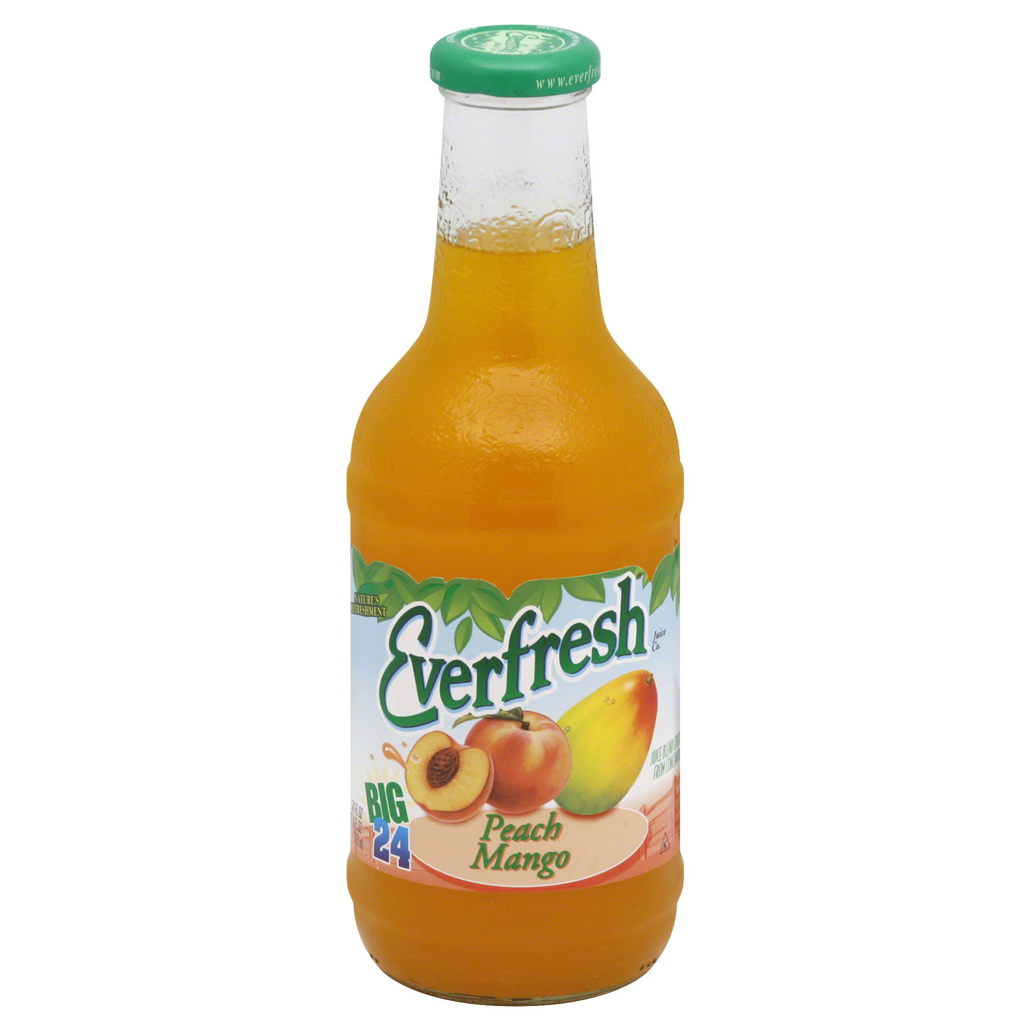 Everfresh Juice Blend Cocktail, Peach Mango - 24 fl oz