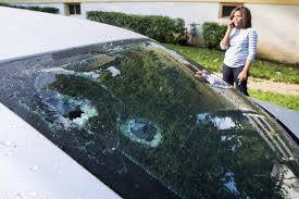Hail Damage From Storm That Insurers Now Call A Catastrophe Could ...